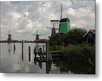 Windmills 2 Metal Print by Vilas Malankar