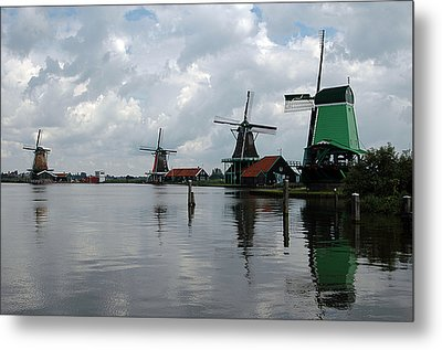 Windmills Metal Print by Vilas Malankar