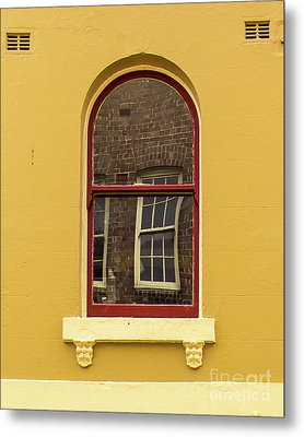 Metal Print featuring the photograph Window And Window 2 by Perry Webster
