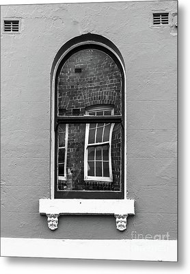 Metal Print featuring the photograph Window And Window by Perry Webster