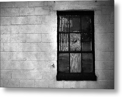 Window Pains Metal Print by Jeanette O'Toole