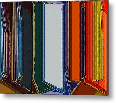Windows Metal Print by Patrick Guidato