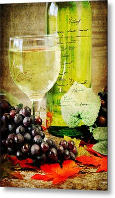 Wine Metal Print by Darren Fisher