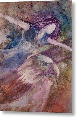 Wings Like Eagles Metal Print