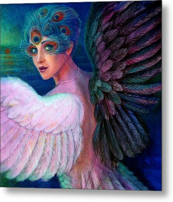Wings Of Duality Metal Print by Sue Halstenberg