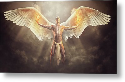 Wings Of Freedom Metal Print