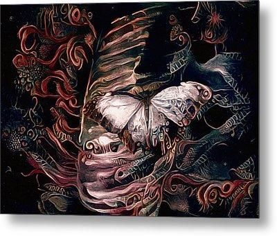 Wings Of The Night Metal Print
