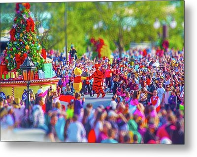 Metal Print featuring the photograph Winnie The Pooh And Tigger by Mark Andrew Thomas