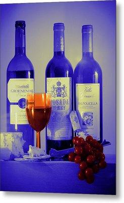 Winsome Wine Metal Print by Donald Davis