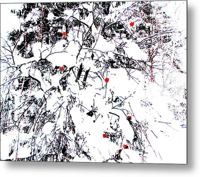 Winter Apple Metal Print by Yury Bashkin