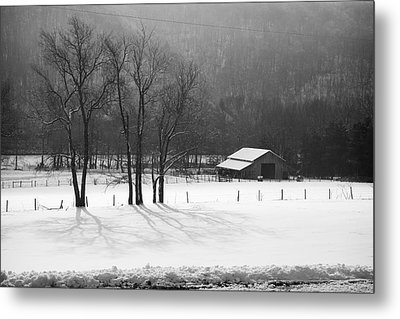 Metal Print featuring the photograph Winter In Boxley Valley by Michael Dougherty