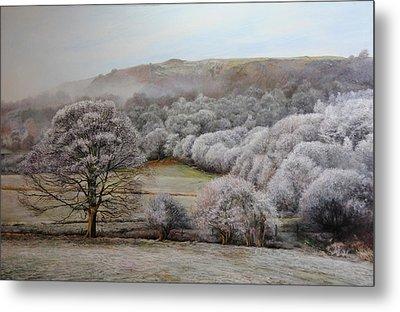 Winter Landscape Metal Print by Harry Robertson