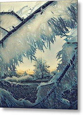 Winter Magic Metal Print by Colette V Hera Guggenheim