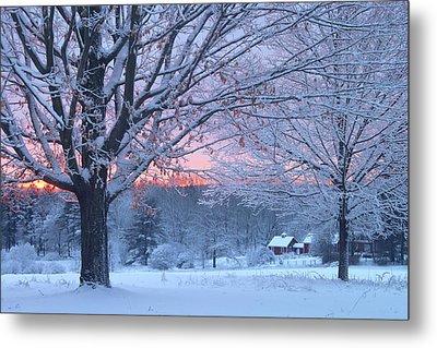 Winter Morning Metal Print by John Burk