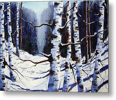 Winter Passage Metal Print