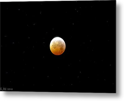 Winter Solstice Lunar Eclipse 2010 Metal Print by Kevin Munro