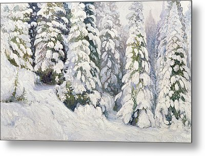 Winter Tale Metal Print