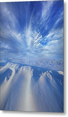 Metal Print featuring the photograph Winter's Hue by Phil Koch