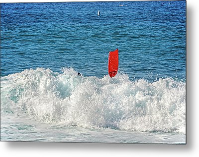 Wipe Out Metal Print