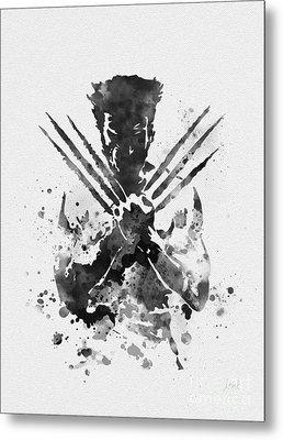 Wolverine Metal Print by Rebecca Jenkins