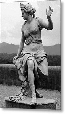 Metal Print featuring the sculpture Woman Sculpture Nc by Eric  Schiabor