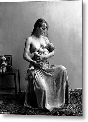 Women The Nourishment Of The World Metal Print by Pg Reproductions