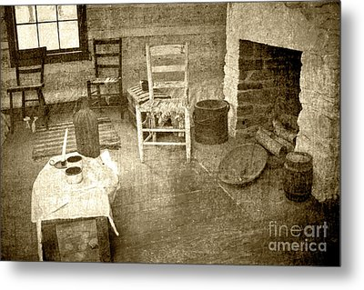 Metal Print featuring the photograph Worker Quarters 2 by Pete Hellmann