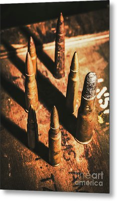 World War II Ammunition Metal Print