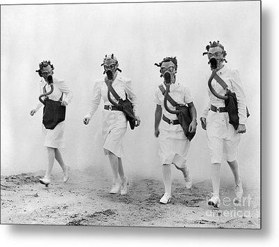 World War II: Nurses Metal Print by Granger