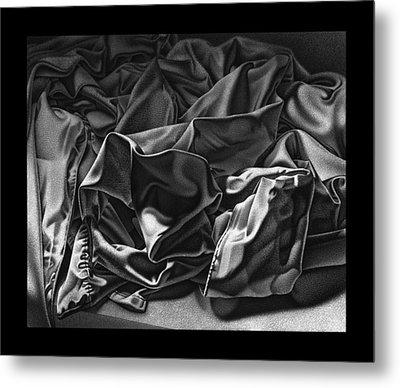 Wrinkles Metal Print by David Fedan