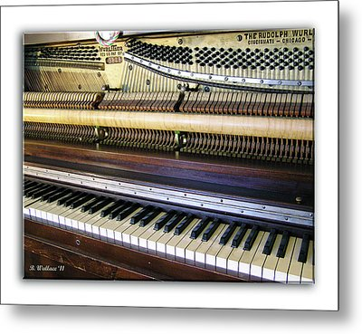 Wurlitzer Piano Metal Print by Brian Wallace