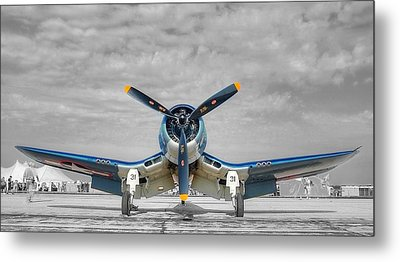 Ww II Fighter Plane 2 Metal Print