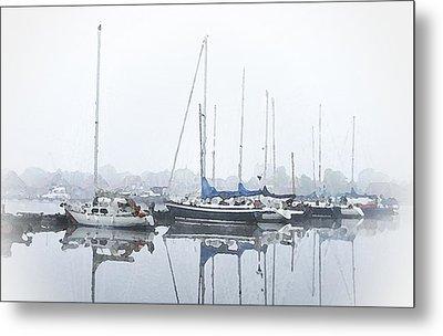 Yachting Club Metal Print by Steve K
