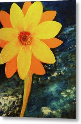 Yellow Treat Metal Print by John Scates