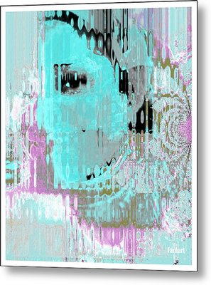 Yes I African Metal Print by Fania Simon