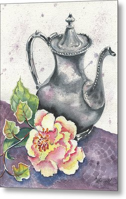 Yesterdays Gone Metal Print by Marsha Elliott