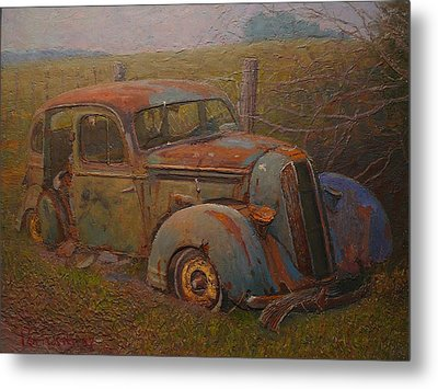 Yesteryear Metal Print by Terry Perham