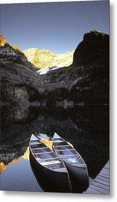 Yoho National Park, Lake Ohara, British Metal Print by Ron Watts