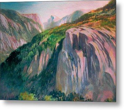 Yosemite Metal Print by Don Getz