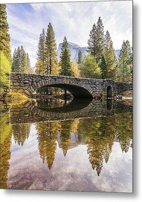 Yosemite Reflections Metal Print by Alpha Wanderlust