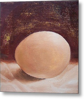 You Are A Very Good Egg Metal Print by Irene Corey
