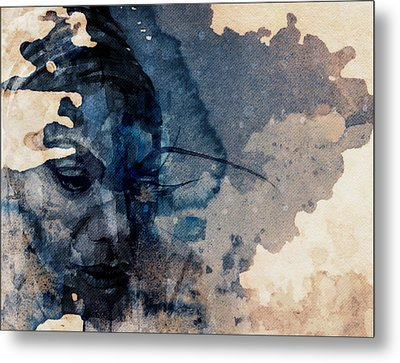 Young Gifted And Black - Nina Simone  Metal Print