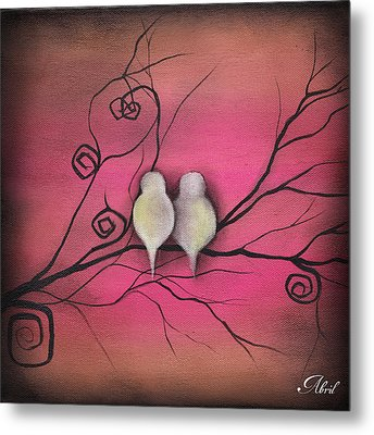 Your Love Is Enough  Metal Print by  Abril Andrade Griffith