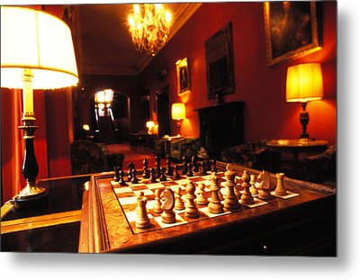 Your Move Metal Print by Carl Purcell