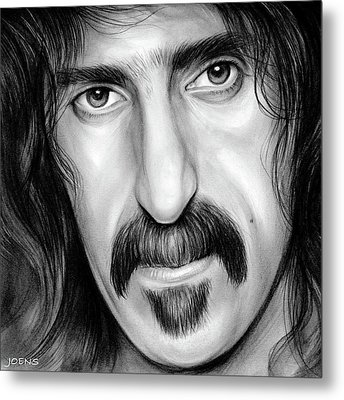 Zappa Metal Print by Greg Joens