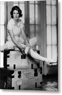 Zelda Fitgerald, 1931 Metal Print by Everett