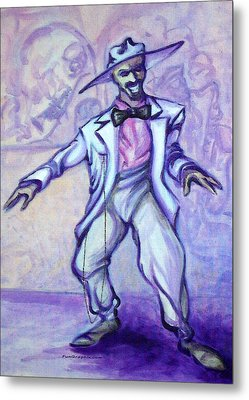 Zoot Suit Metal Print by Kevin Middleton