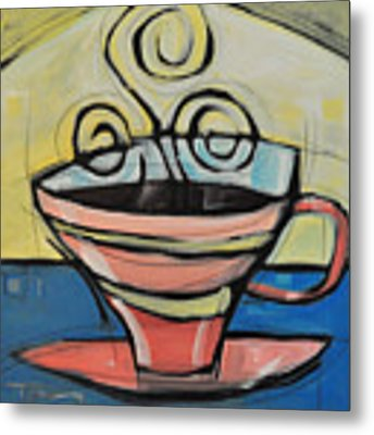 Coffee Cup Four Metal Print
