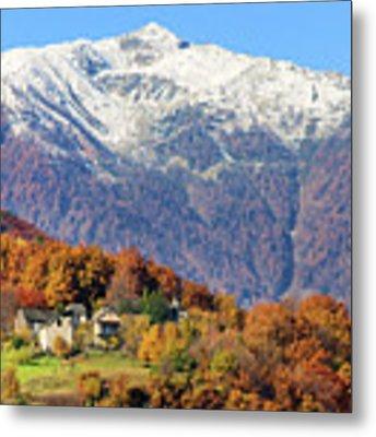 Italian Alps Metal Print by Silvia Ganora