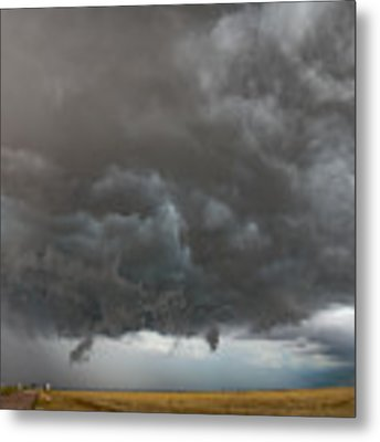 August Thunder 020 Metal Print by Dale Kaminski